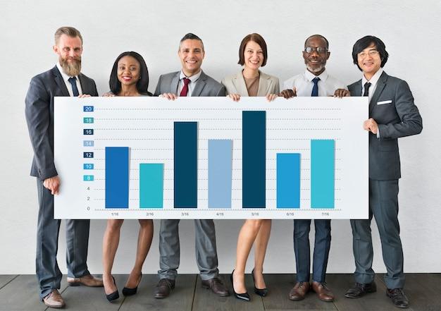 Concept de démarrage d'entreprise de la stratégie d'entreprise