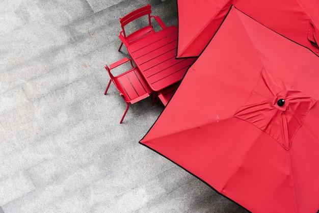 Concept de design de restaurant en plein air