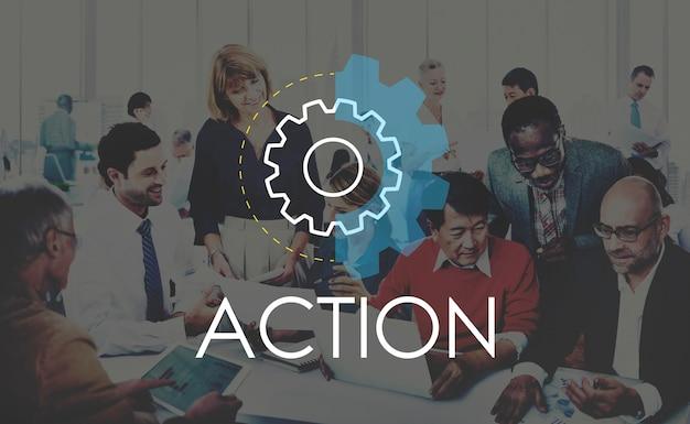 Concept de développement de l'analyse de l'action