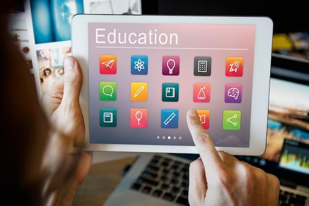 Concept de développement des connaissances de l'application de l'éducation