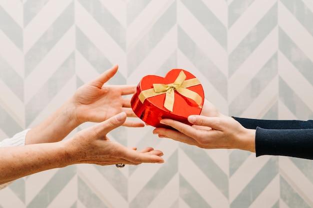 Concept de don pour la fête des mères