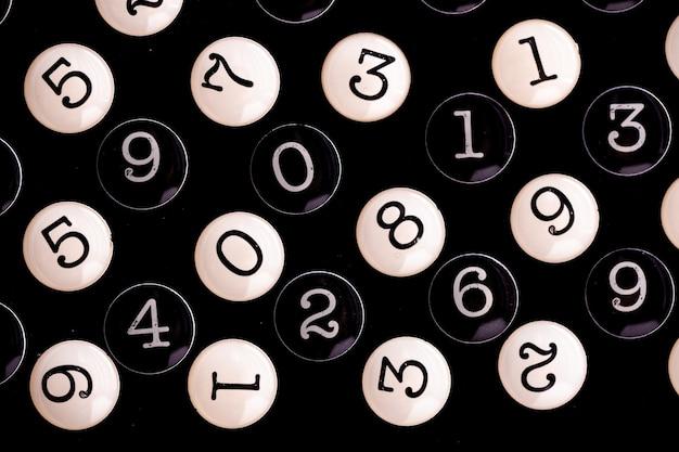 Concept de données financières. modèle sans couture avec des nombres. concept de crise financière.