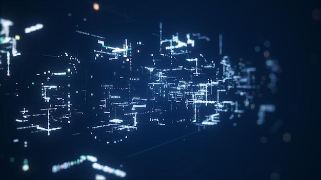 Concept de données volumineuses.