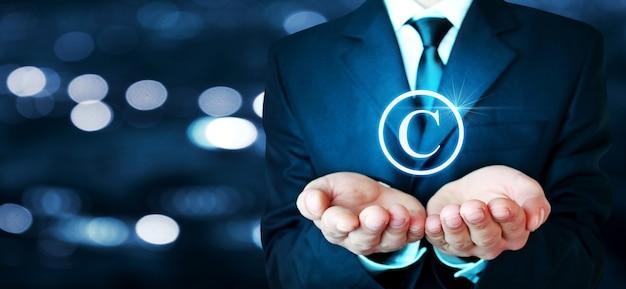 Concept de droit d'auteur et de propriété intellectuelle