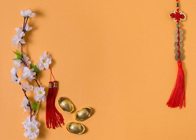 Concept du nouvel an chinois