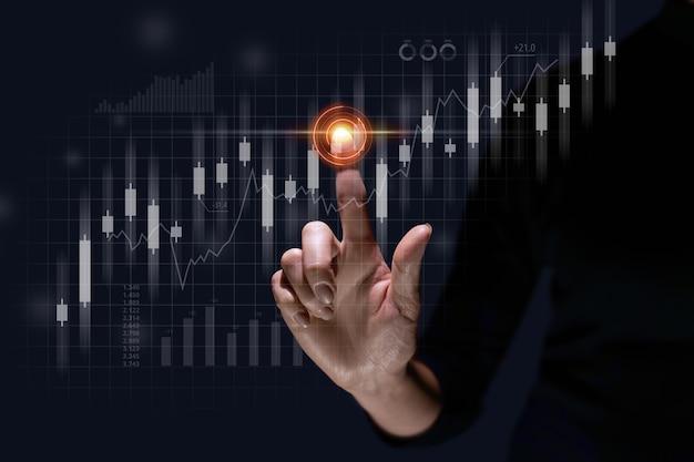 Le concept de la dynamique de l'investissement de développement et de la croissance des fonds d'obligations d'actions en affaires