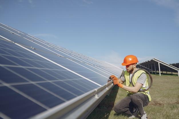 Concept écologique d'énergie alternative.