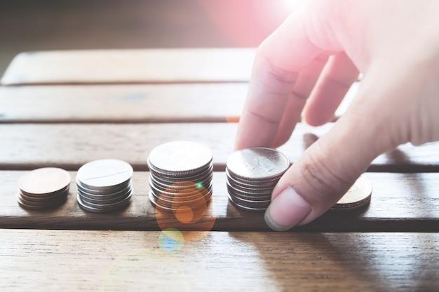 Concept économie d'argent
