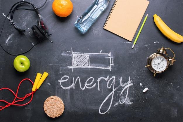 Concept économisant de l'énergie méthode différente de la batterie