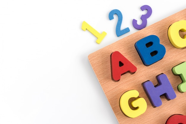 Concept éducation enfant
