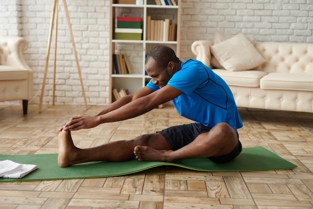 Concept d'entraînement et de mode de vie exercices sportifs