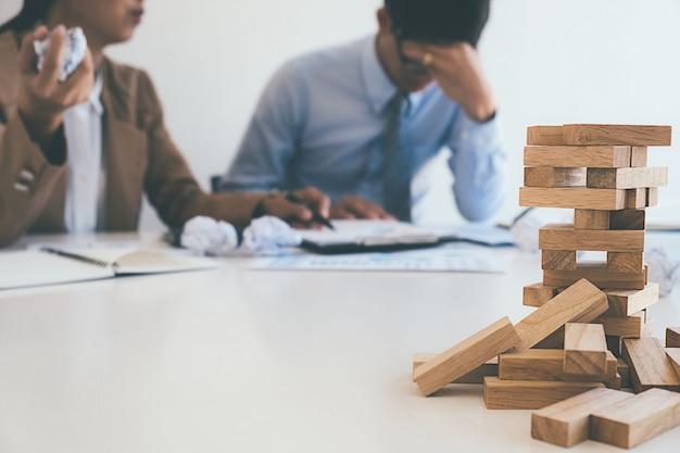 Concept d'entreprise d'échec