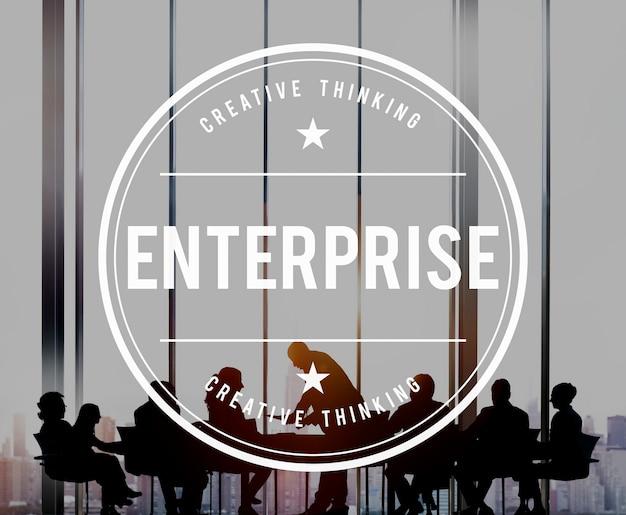 Concept d'entreprise de franchise de création d'entreprise