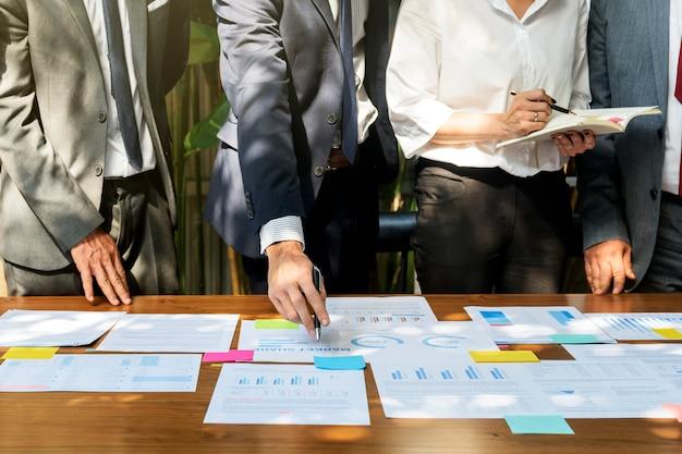 Concept d'entreprise de gens d'affaires