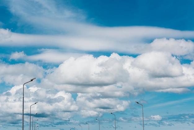 Concept d'environnement météorologique sky clouds
