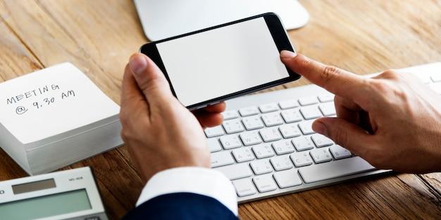 Concept d'espace de travail pour les appareils numériques d'analyse comptable