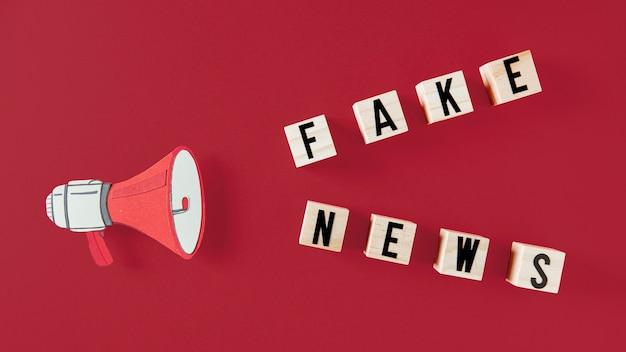 Concept de fausses nouvelles