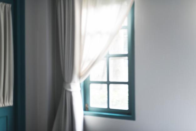 Concept de fenêtre salon ensoleillé