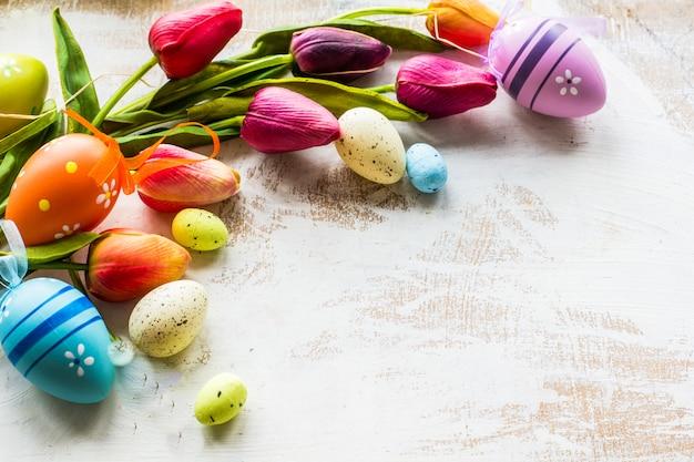 Concept festif de pâques
