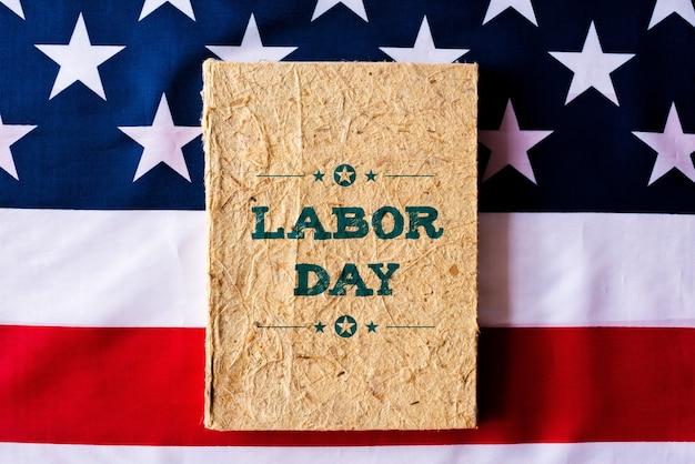 Concept de la fête du travail des états-unis, premier lundi de septembre.