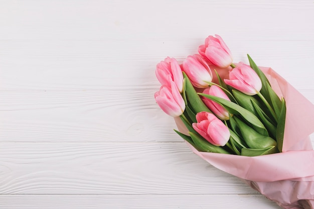 Concept de fête des mères avec des roses
