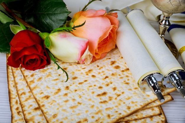 Concept de fête de pesah vacances de printemps juif