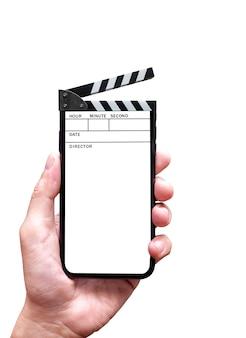 Concept de film en ligne
