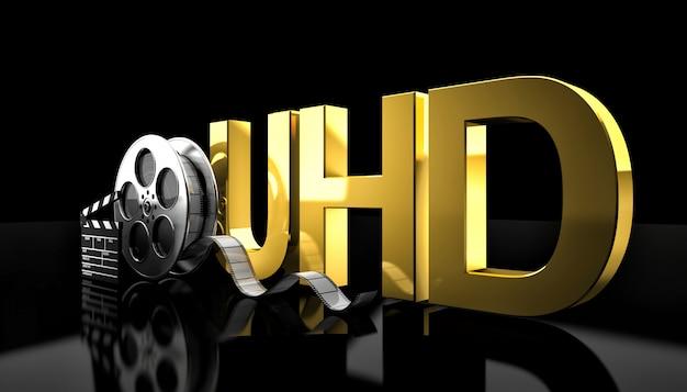 Concept de film uhd