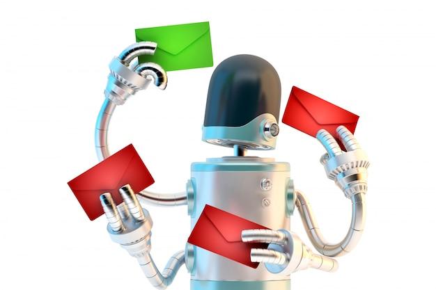 Concept de filtrage de spam