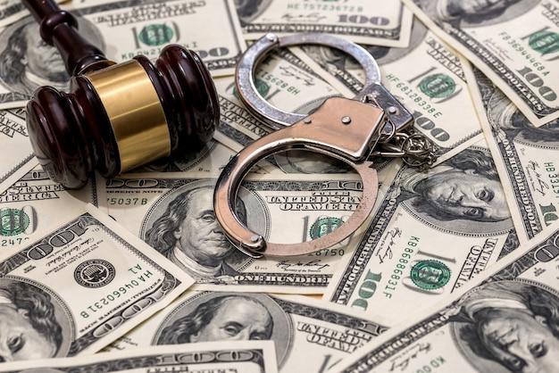 Concept de finance ou de crime