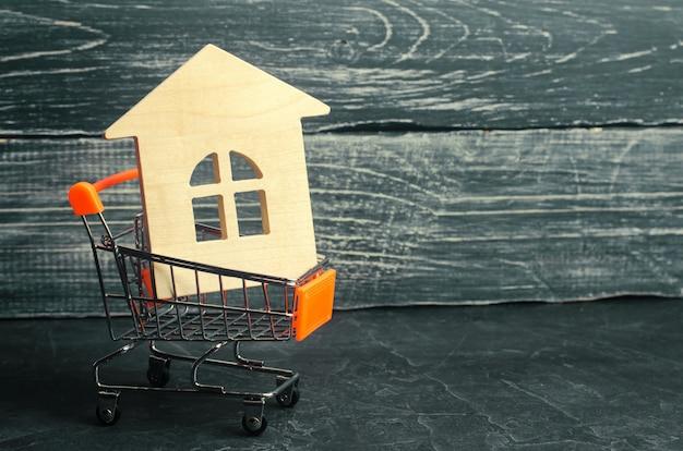 Concept financier d'investissement immobilier et d'hypothèque immobilière