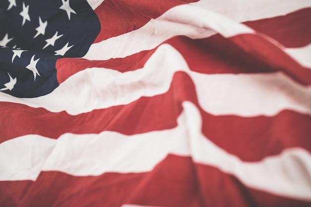 Concept de fond de drapeau des états-unis.