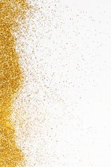 Concept de fond élégant paillettes dorées