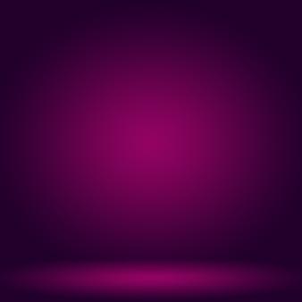 Concept de fond de studio abstrait fond de salle de studio violet dégradé clair vide pour le produit
