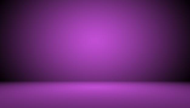 Concept de fond de studio fond de salle de studio violet dégradé foncé pour le produit