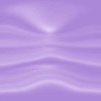 Concept de fond de studio - fond de salle de studio violet dégradé de lumière vide abstrait pour le produit.