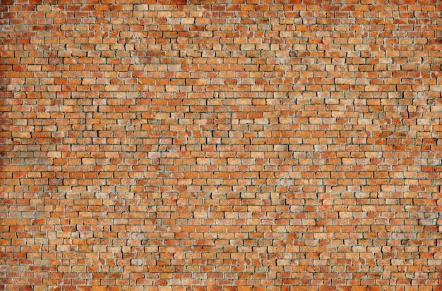 Concept de fond de texture de mur antique de brique de mur