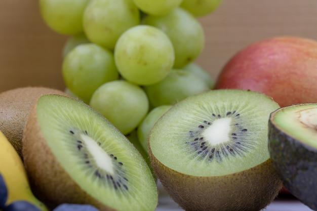Concept de fruits riches en vitamine c