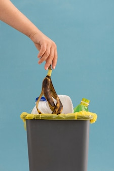 Concept de gaspillage alimentaire