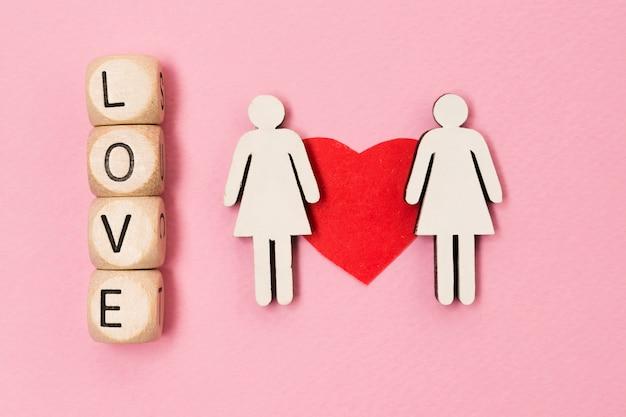 Concept gay de l'égalité des droits
