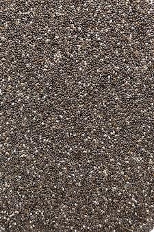 Concept de graines de chia naturel
