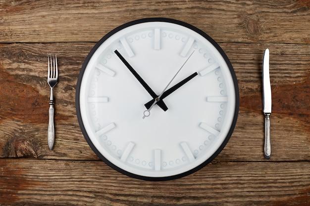 Concept de l'heure du déjeuner.