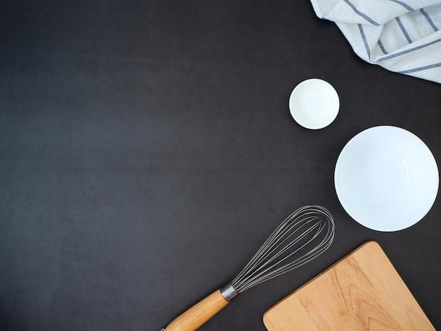 Concept d'ingrédients de la cuisine maison