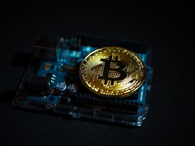 Un concept innovant de bitcion de monnaie numérique