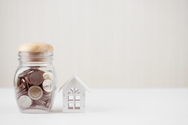 Concept d'investissement immobilier et hypothécaire maison