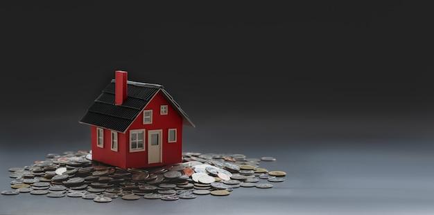 Concept d'investissement immobilier et immobilier