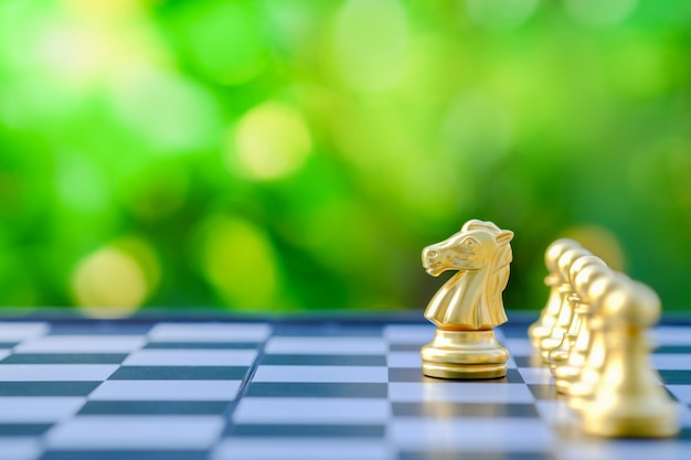 Concept de jeu de société, affaires, concurrence et planification.