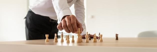 Concept de leadership d'entreprise