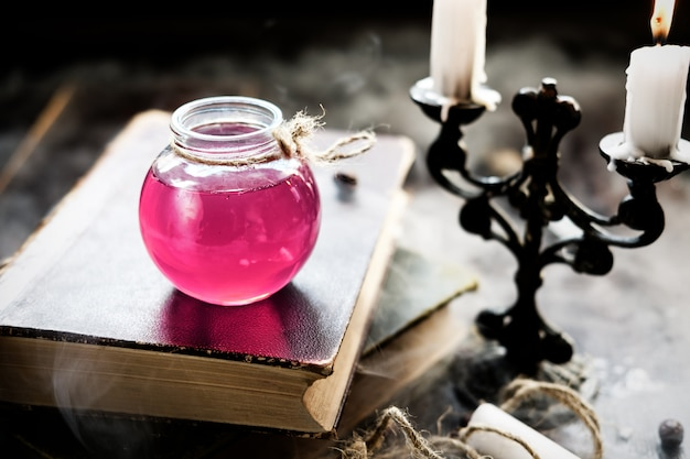 Concept de magie et de magie.