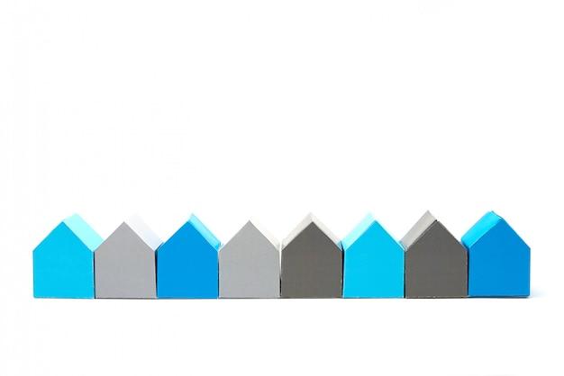 Concept de maisons, à la recherche de la maison idéale